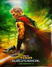 "Thor Ragnarok - Movie Poster 27"" by 40"" - Used - Good Condition"