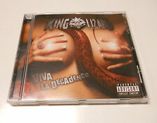 "King Lizard ""Viva la decadence"" Indie Hard Rock cd"