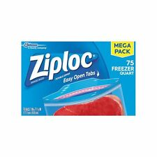 Ziploc Freezer Quart Bags 75 Count U2013 2