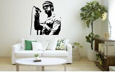 Liam Gallagher Oasis 1 Rock N Roll Music Singer Wall Decal Home Britpop Idol F25 White Large 57cm - 63cm as Pictured
