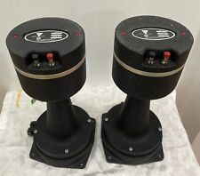JBL LE175 8 OHM DRIVERS WITH JBL 1217-1290 HORNS AND BRACKETS
