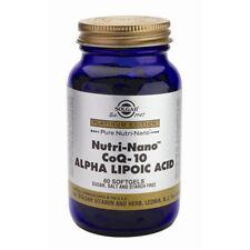 Softgel Unisex COQ-10 Vitamins & Minerals Health Supplements