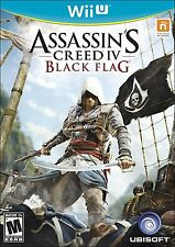 Assassin's Creed IV: Black Flag [Nintendo Wii U, NTSC, Action Pirate Combat] NEW