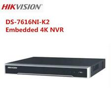 Hikvision 16CH DS-7616NI-K2 Embedded 4K H.265 2 SATA NVR without POE Port