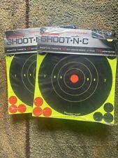 (2x) Birchwood Casey Shoot-N-C 6 inch Round Target 60 Sheet Pack B16-60