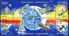 1912-1919 -18¢ Space Achievement 1981 SeTenant Blocks Mint NH LOT OF 10 @ FACE