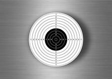 Autocollant sticker decoration cible target airsoft target flechette tir arc r1