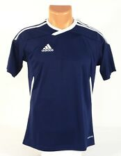Adidas ClimaCool Blue & White Tiro 11 Soccer Jersey Youth Boys Large L NWT