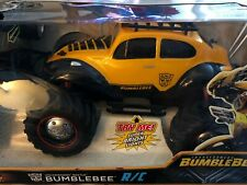 NIB Jada Toys Transformers Bumblebee Volkswagen Beetle RC Collector's Edition