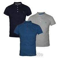 DIESEL Mens Polo Shirt New Short Sleeve Four Branded Buttons Neck Cotton BNWT