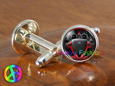 Ford Fiesta Mens Car Cars Accessories Cufflinks Cuff Links Jewelry Gift Gifts