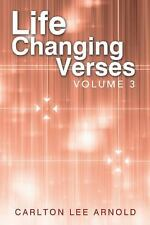 Life-Changing Verses Vol. 3 by Carlton Lee Arnold (2013, Hardcover)
