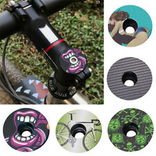 MTB road Bike Headset Bowl Cover Bicycle Stem Top Cap Headset Cover Fit on 1-1/8