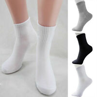 5 Pairs Men's Unisex Socks Winter Casual Soft Breathable Cotton Blend Sport Sock