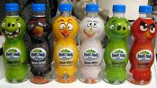 6 Plastic Bottles Soda Mineral Water EDiTion ANGRY BIRDS 6 x330ml EMPTY or FULL