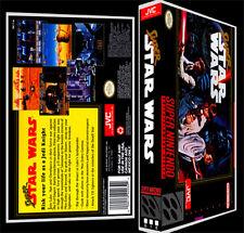 Super Star Wars - SNES Reproduction Art Case/Box No Game. Super Nintendo