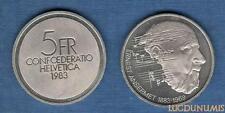 Suisse – 5 Francs 1983 Ernest Ansermet – Switzerland Swiss