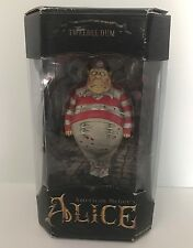 New American McGee's Alice in Wonderland Tweedle Dum Figure Gothic ~Package Wear