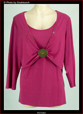 Autograph Pink Wrap Top Size 16 Three Quarter Sleeve