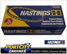 Hastings Chrome Piston Ring Set Ford 6cyl Falcon Fairlane EL BA BF 4.0L RS3987