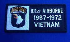 101ST AIRBORNE1967 1972 VIETNAM COLLECTIBLE BIKER MILITARY ARMY MOTORCYCLE PATCH