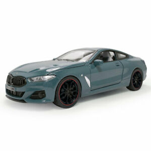 1:24 BMW M840i 2019 Coupe Model Car Diecast Gift Toy Vehicle Collection Blue