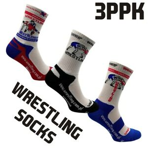 Wrestling Socks BERKNER 3PPK Training Unisex Cotton Ringersocken Sports Socks