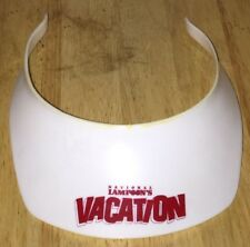 Vintage NATIONAL LAMPOON'S VACATION 1983 Plastic Sun Visor Hat PROMO Rare HTF