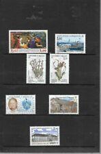 Timbres en excellent état avec 7 timbres
