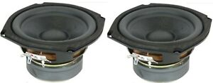 """NEW Pair 5 1/4"""" 5.25"""" Replacement for Bose Acoustimass Mini Subwoofer 8 Ohm 400W"""