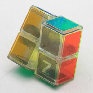 Transprent 2X2X1 Rubiks Cube Magic Brain Twist Rubic Gift Kid Adult Rubix Puzzle