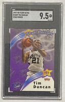 1997-98 Fleer Ultra TIM DUNCAN RC Star Power Rookie Card SGC 9.5 - PSA Spurs