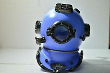 "18"" Black Antique Diving Divers Helmet US Navy Mark V Reproduction Handmade Gift"