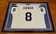 Troy Aikman UCLA Signed Framed Jersey Steiner COA
