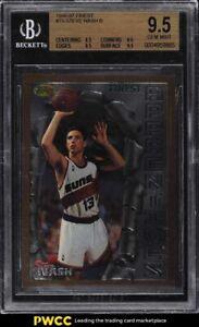 1996 Finest Basketball Steve Nash ROOKIE RC #75 BGS 9.5 GEM MINT