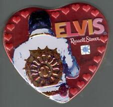 Elvis Presley Valentine Candy Tins, Russell Stover - Lot Of 2, New, Still Sealed