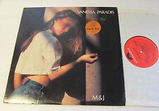 VANESSA PARADIS M & J LP 1989 Polydor m&j Canada French PROMO johnny depp usa !!