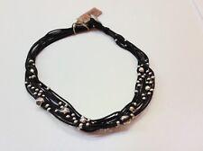 """NWT Uno de 50 Multi Stranded Mixed Bead Necklace 17"""" """"Tif Taf"""" $165"""