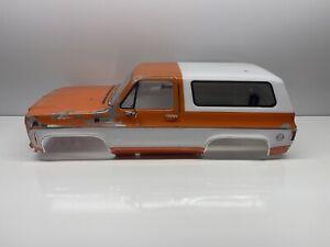 Traxxas Trx4 Chevy K5 Blazer Body W Bumpers Rc Part #5418