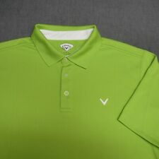CALLAWAY POLY GOLF SHIRT--XL--WRINKLE FREE--SUPER COLOR!!--SPOTLESS!!