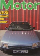Motor magazine 14/7/1984 featuring Nissan 300ZX, Lincoln, AC 3000ME, Renault