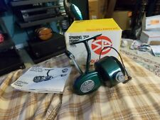 Vintage SOUTH BEND 750 SPINNING FISHING REEL W/ Box & Swag Works VG !