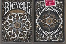 1 DECK Bicycle Realms black playing cards  FREE USA SHIPPING!