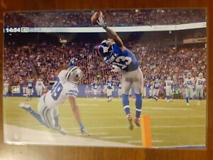 Odell Beckham Giants Football 4x6 Photo Picture Card