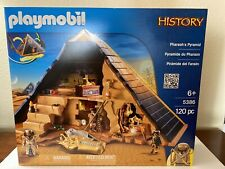 Playmobil Pyramid of the Pharaoh 5386 Roman and Egypt History W Three Figure New