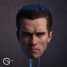 1/6 Arnold Schwarzenegger Head Model Toy T800 F 12'' Muscle Body