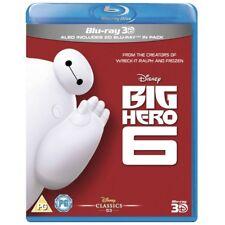 Big Hero 6 3d and 2d Blu-ray Region B