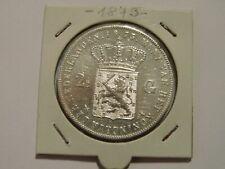 Niederlande - 2 1/2 Gulden - 1873 - Silber - Wilhelm III. - SS bis VZ