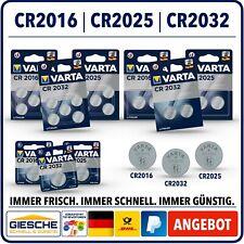 VARTA BATTERIEN I CR2032 I CR2025 I CR2016 I Bulkware Blisterware Auswahl !!