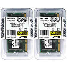 1GB KIT 2 x 512MB SODIMM DDR NON-ECC PC2100 266MHz 266 MHz DDR-1 8G Ram Memory